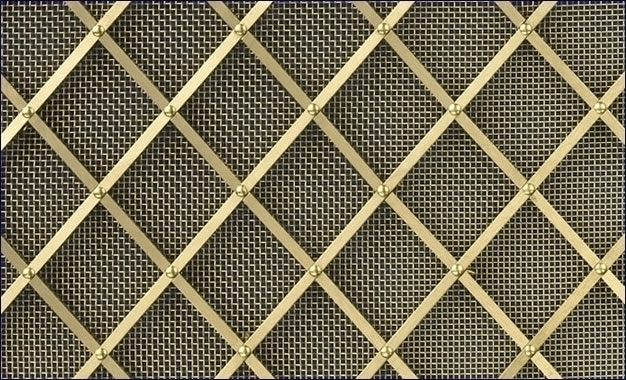 P/diamond_regency_brass_grille_small_plain