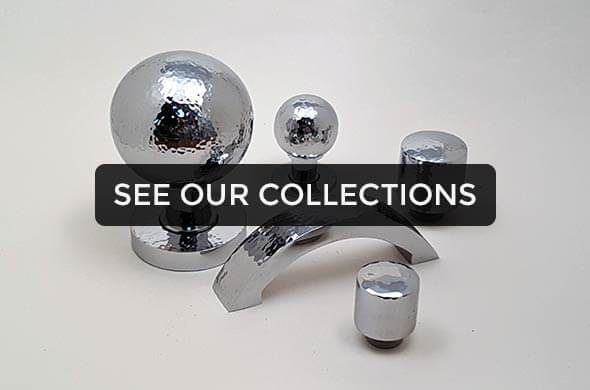 chrome knob collection